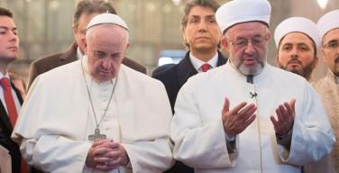Вслед за синагогой Папа Франциск посетит римскую мечеть