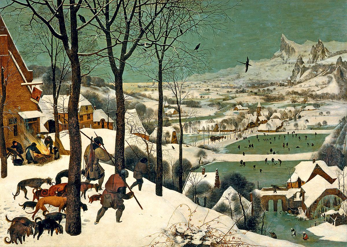 «Охотники на снегу» Брейгеля: 9 интересных фактов