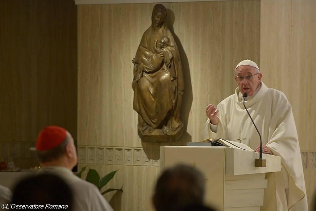 Папа: сердце христианина открыто для всех