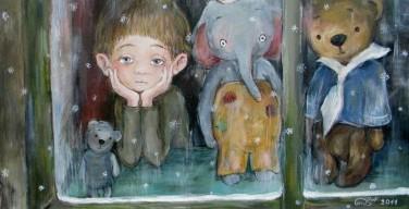 Трогательные картины Нино Чакветадзе о детстве