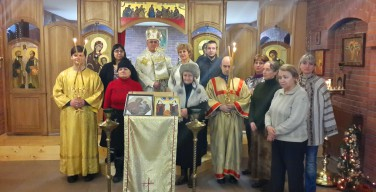 Рождество по Юлианскому календарю в греко-католической общине Новосибирска