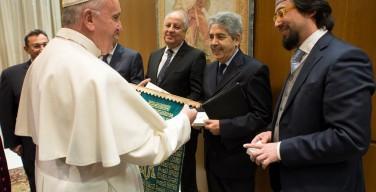 Мусульманская делегация пригласила Папу Римского посетить мечеть