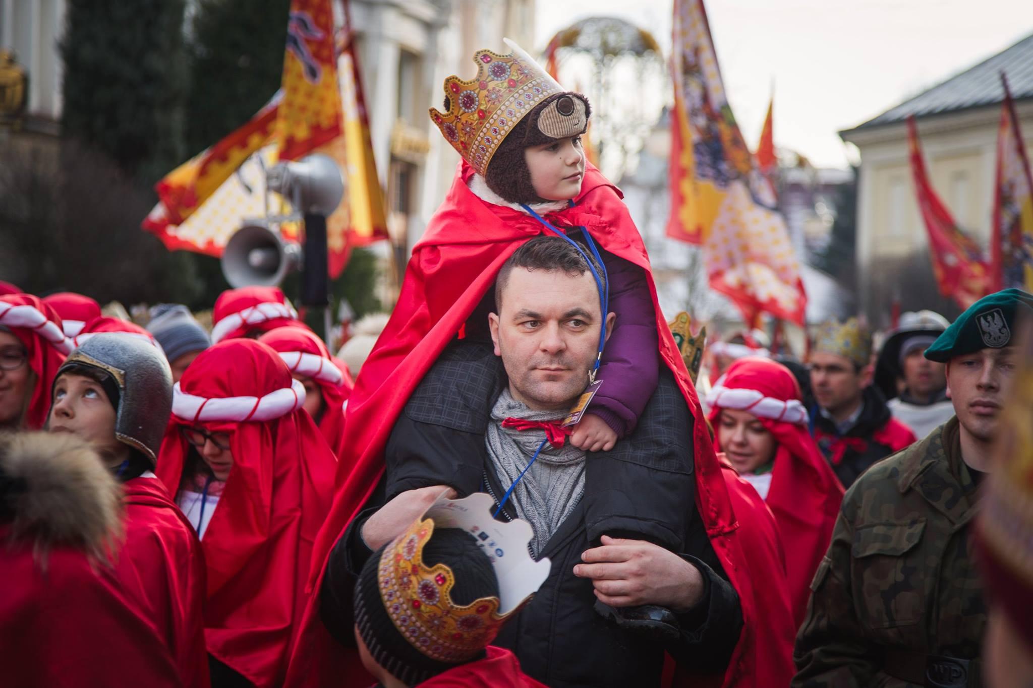 «Шествие Трех королей» в польском Жешуве (ФОТО)