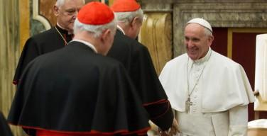 Папа подчеркнул необходимость коллегиальности в работе Конгрегации вероучения