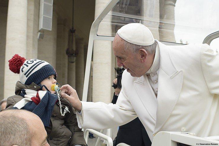На первой юбилейной аудиенции Папа Франциск подчеркнул связь между миссией и милосердием