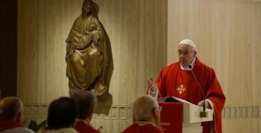Папа: ревность и зависть — это уродливые грехи, которые убивают словами