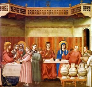 Джотто. Брак в Кане Галилейской