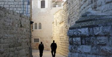 В Иерусалиме осквернено бенедиктинское аббатство Дормицион, которое католики почитают как место успения Богородицы