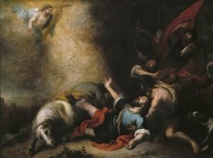 Мурильо. Обращение апостола Павла