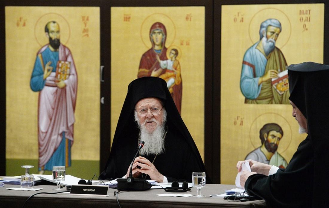 Патриарх Варфоломей, выступая на Синаксисе, предложил провести Всеправославный Собор в течение двух недель и пригласить на него католиков