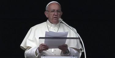 Воскресное размышление Папы Франциска перед чтением молитвы Angelus 21 февраля 2016 г.