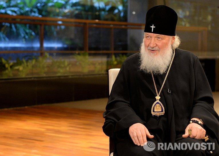 Патриарх Кирилл объяснил секретность подготовки встречи с Папой Римским