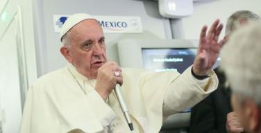 Папа о встрече с Патриархом Кириллом (полная расшифровка аудио)