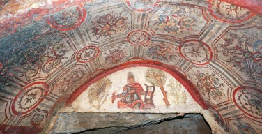 При поддержке Фонда Гейдара Алиева завершена реставрация катакомб Святых Марцеллина и Петра