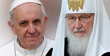 Папа Франциск и Патриарх Кирилл не будут избегать острых тем