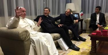 Папа встретился с мексиканскими иезуитами (ФОТО)