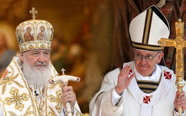 СМИ о встрече Патриарха и Папы