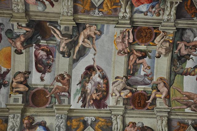 СМИ: все фрески Сикстинской капеллы впервые воспроизведены в Мексике