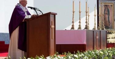 Воскресное размышление Папы Франциска перед молитвой «Ангел Господень» в пригороде Мехико