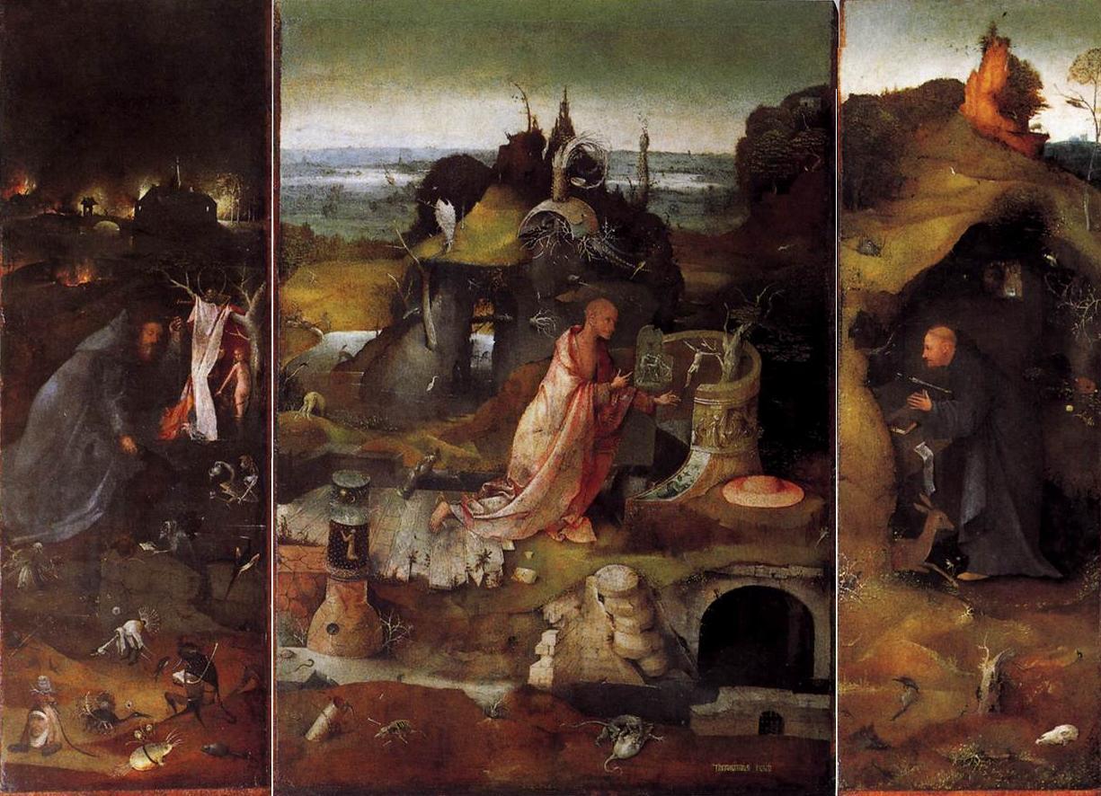 Bosch_1495_Hermit-Saints-Triptych