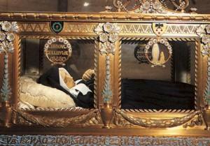 Нетленные мощи св. Бернадетты Субиру