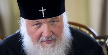 Патриарх Кирилл: Ни в коем случае нельзя допустить большой войны (+ВИДЕО)