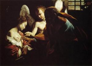 Святой апостол Петр посещает святую Агату в темнице