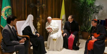 Патриарха и Папу сближает дехристианизация мира. Российские политики — о встрече на Кубе