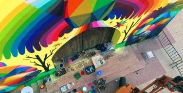 Художник раскрасил заброшенную церковь в Марокко