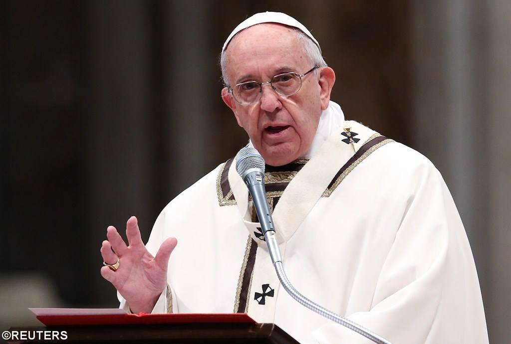 Проповедь Папы Франциска на Мессе елеев в соборе Св. Петра. 24 марта 2016 года