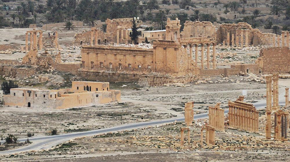 Сирийская Пальмира полностью освобождена от боевиков ИГИЛ