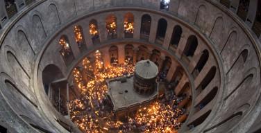Началась реставрация кувуклии Гроба Господня