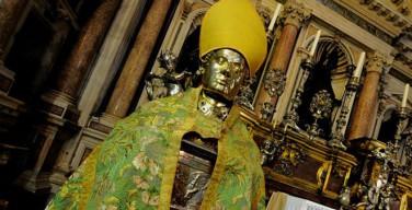 Неаполитанцы не хотят отдавать Церкви знаменитые «сокровища святого Януария»
