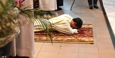 Вербное воскресенье и рукоположение в диаконы в Кафедральном соборе Новосибирска