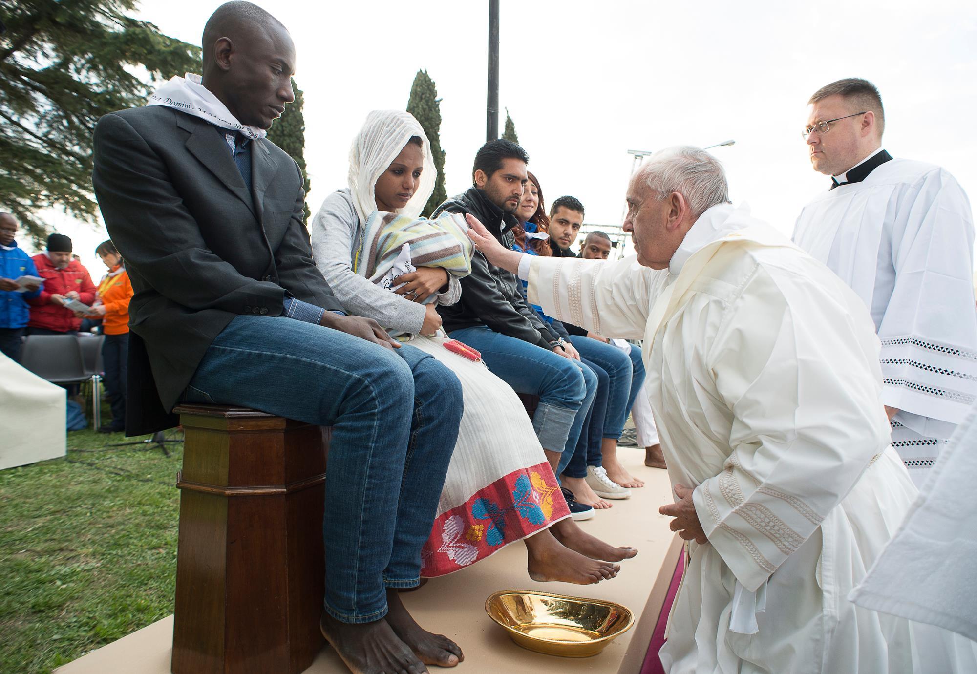 Папа — мигрантам: мы дети одного Бога и хотим жить в мире