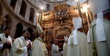 Пасхальное бдение в Иерусалиме: Воскресший Христос победил насилие и ненависть