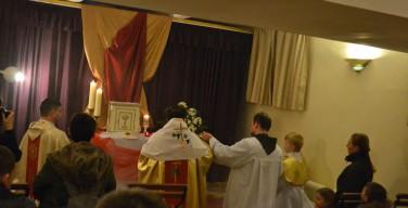 Великий четверг-2016. Приход францисканцев в Новосибирске (фото)