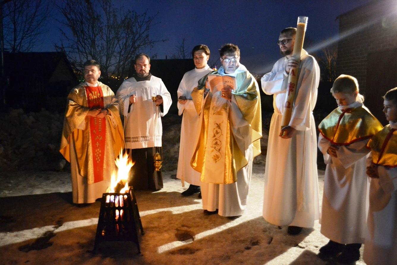 Навечерие Пасхи-2016 у францисканцев