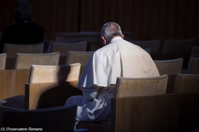 Папа: даже в «долинах смертной тени» Господь не оставляет нас