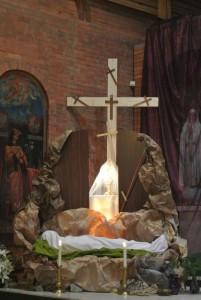 Выставление Святых Даров в Страстную пятницу