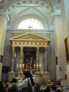 Гробница св. Казимира в Кафедральном соборе Вильнюса