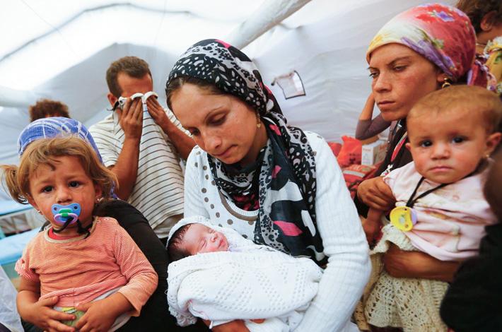 Беженцы-христиане оказались в Германии в большей опасности, чем на родине