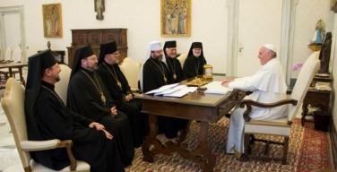 Папа Франциск принял членов Постоянного Синода УГКЦ