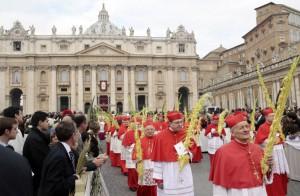 Пальмовое воскресенье в Риме