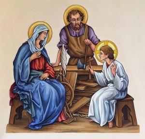 Святой Иосиф - Опекун Святого Семейства