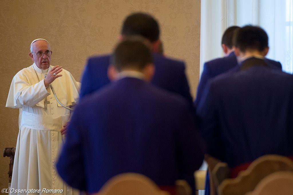 Папа призвал шотландских семинаристов подражать мужеству мучеников периода антикатолических гонений