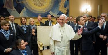 Папа — австрийским лыжникам: будьте вестниками объединяющей силы спорта