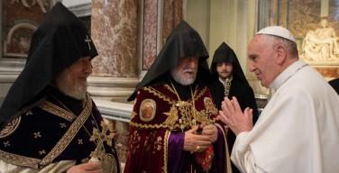 Папа Франциск посетит Армению, Грузию и Азербайджан