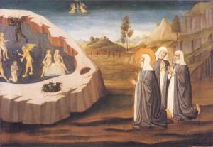 Екатерина Сиенская изгоняет бесов из сестры Пальмерины