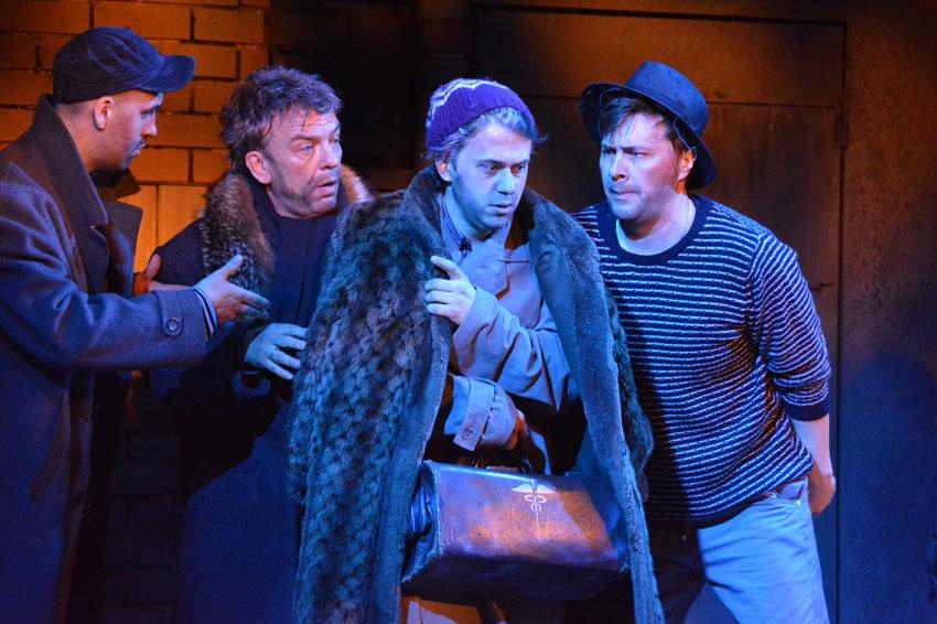Мировая премьера оперы «Доктор Гааз» состоялась в «Геликоне»